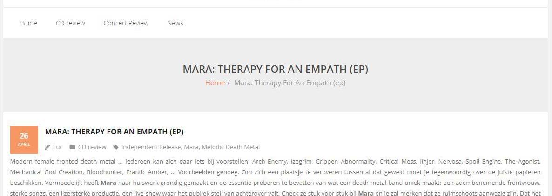 Review Mara EP Musica 2019-04-26