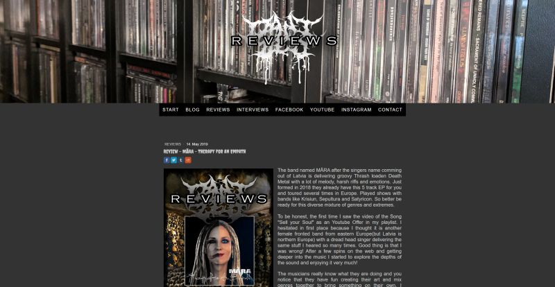 Review Mara EP Dani Zed Reviews 2019-05-14