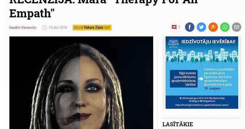 Review Mara EP nra.lv 2018-12-12