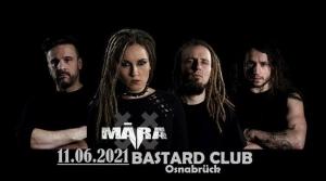 Māra live Bastard Club Osnabrück Germany