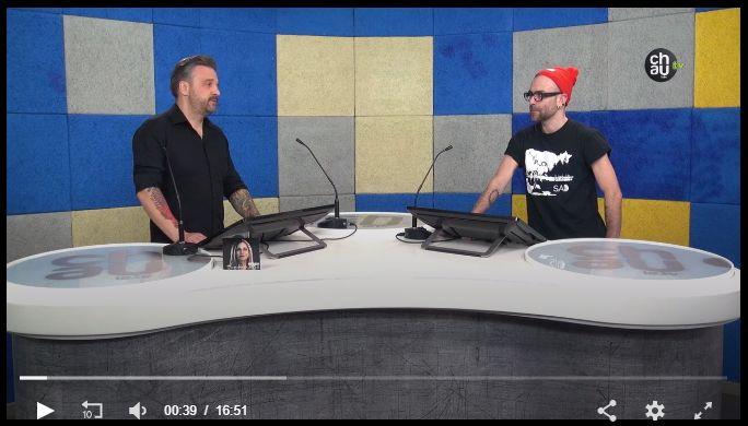 MĀRA (Denis Melnik) interview at Chaula TV (in Latvian)