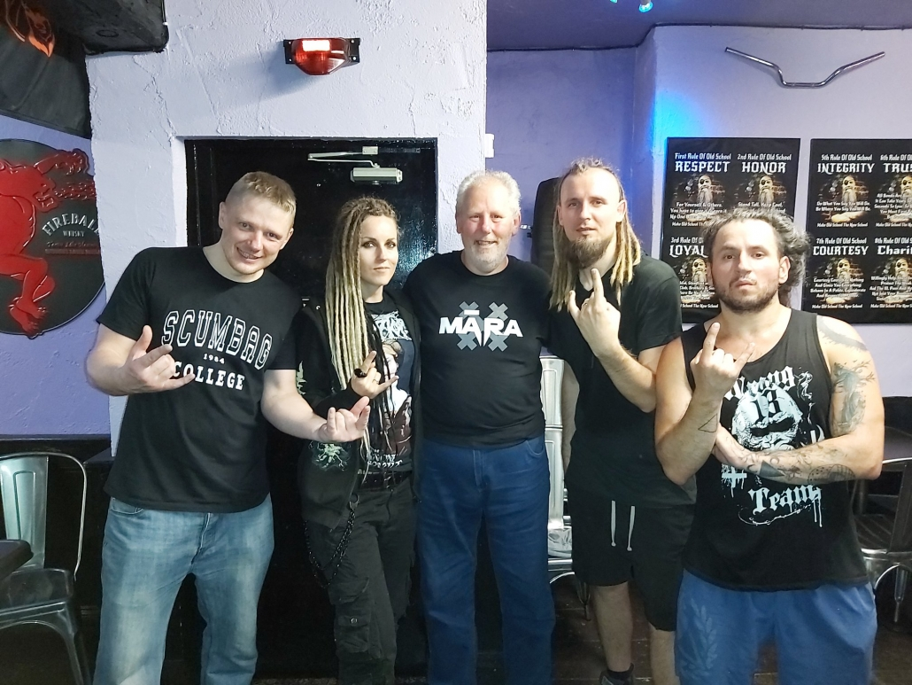 MĀRA at Ye Olde Salutation Inn, Nottingham 28/6/19