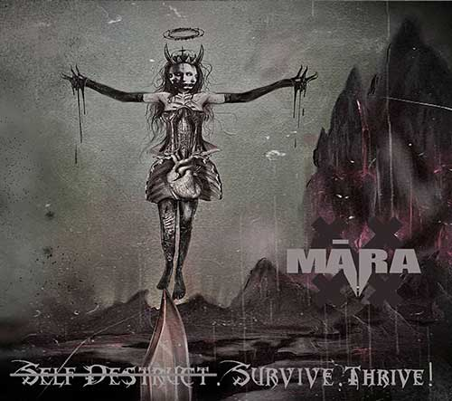MĀRA EP Self Destuct Survive Thrive Cover 2020