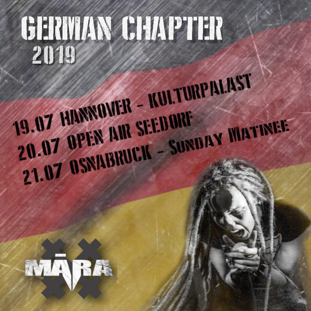 MARA Germany Tour 2019