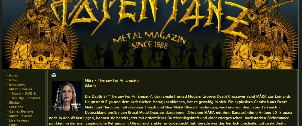 Totentanz Metal Magazin EP Review