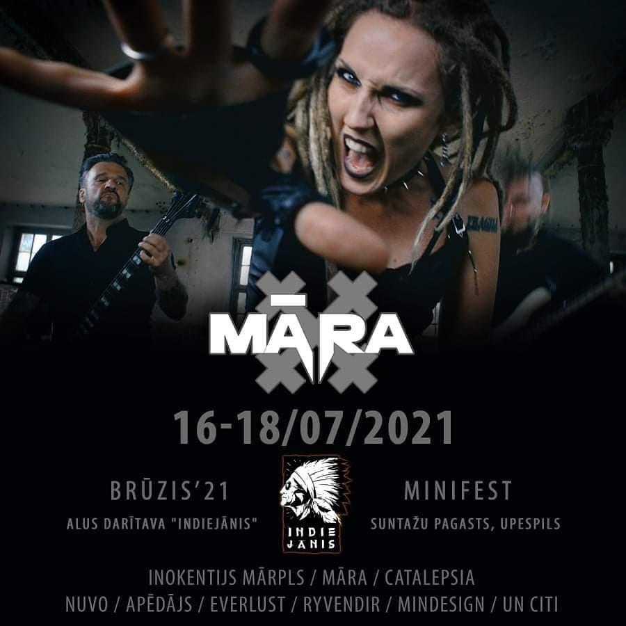 MARA live at Minifestivāls Brūzis 2021